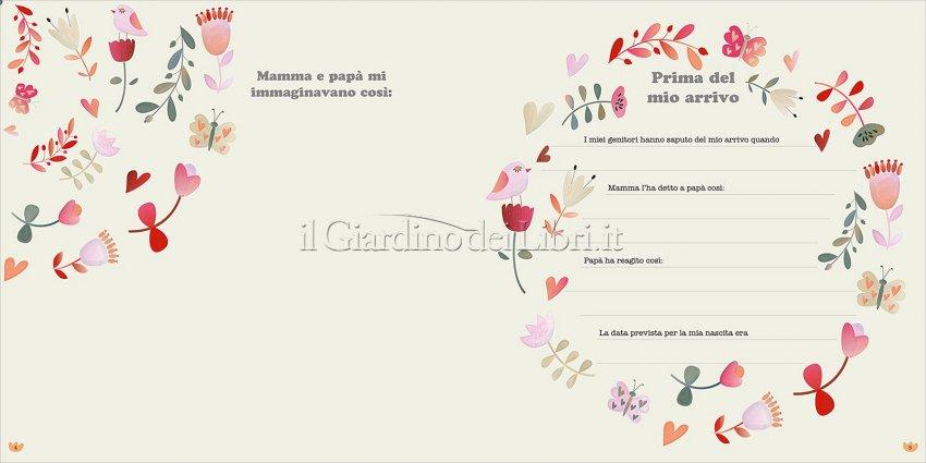 L'Album dei Ricordi - Bimba - Pagina Interna