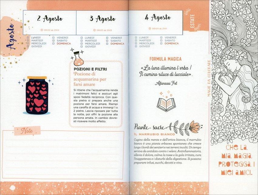 L'Almanacco delle Meraviglie - Pagine Interne