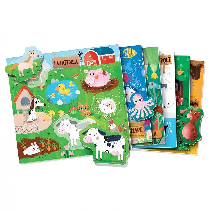 Gli Animali Sagomati Montessori - Interno