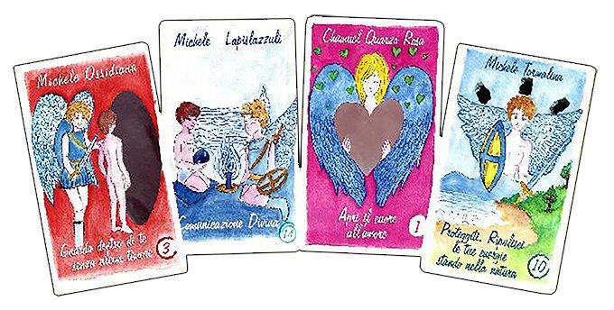 Arcangeli e Cristalli - esempio di carte
