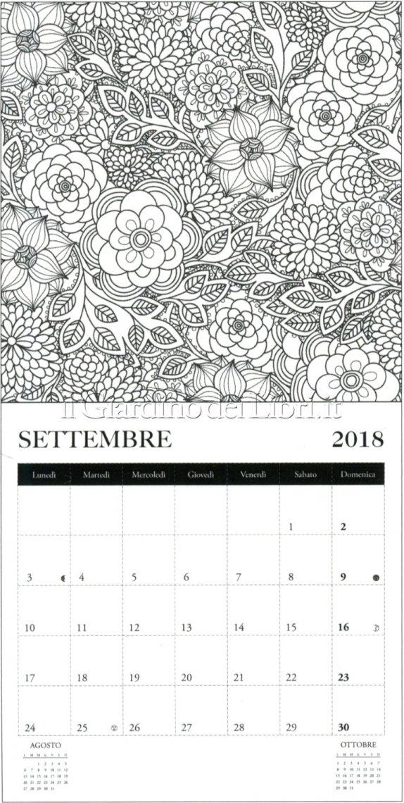 Arte Terapia - Calendario Colouring 2018