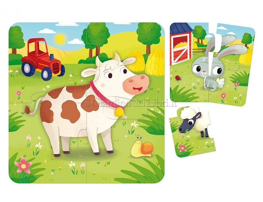 baby puzzle fattoria