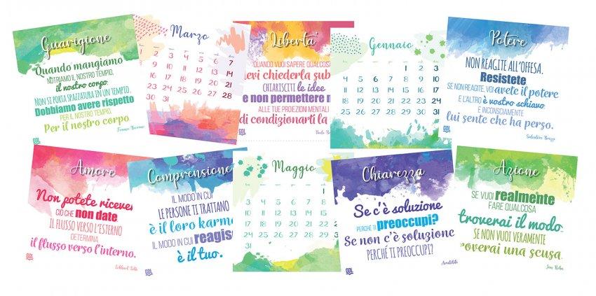 Calendario delle Emozioni 2021 - Interno