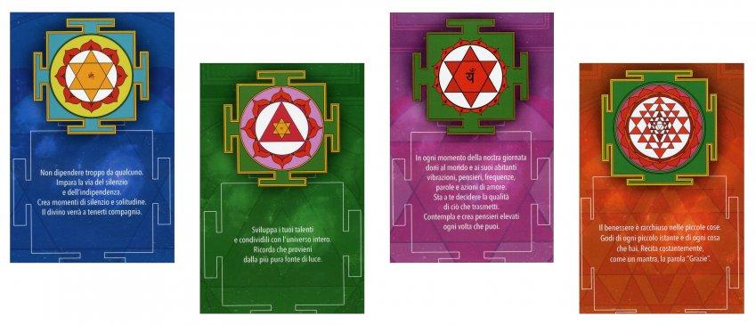 Carte Angeliche e Meditative - esempio delle carte