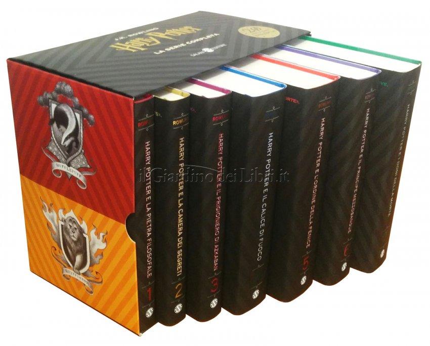 Cofanetto Harry Potter - 7 Libri