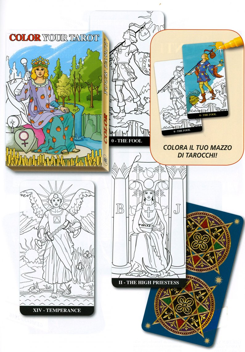 Color Your Tarot - carte