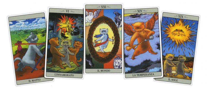 Come Jodorowsky spiegò i Tarocchi al suo Gatto - Carte