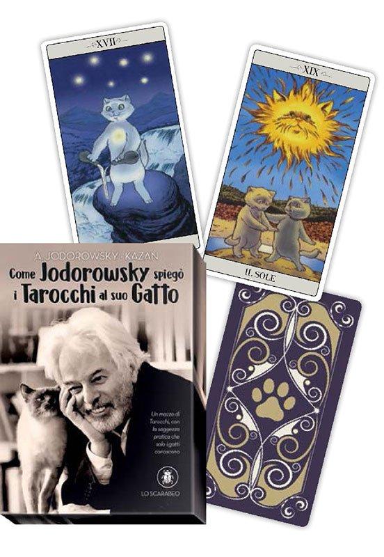 Come Jodorowsky spiegò i Tarocchi al suo Gatto - Cofanetto Libro con Carte
