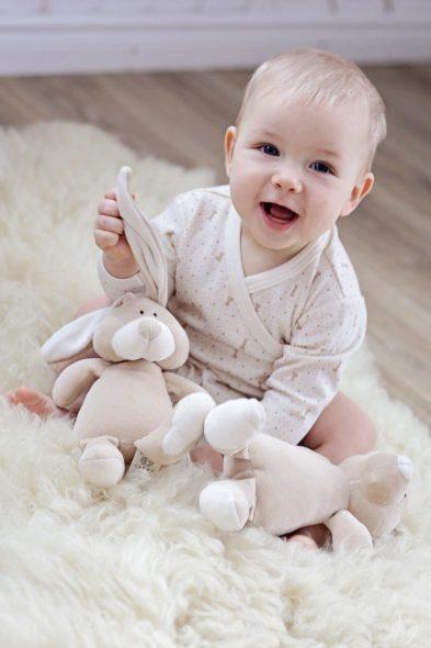 Peluche Coniglietto Bio Piccolo - Bunny