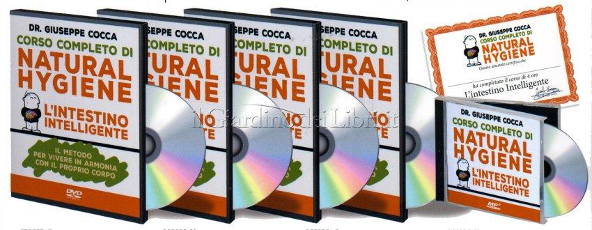 L'intestino Intelligente - Videocorso con 3 DVD e 1 CD Mp3