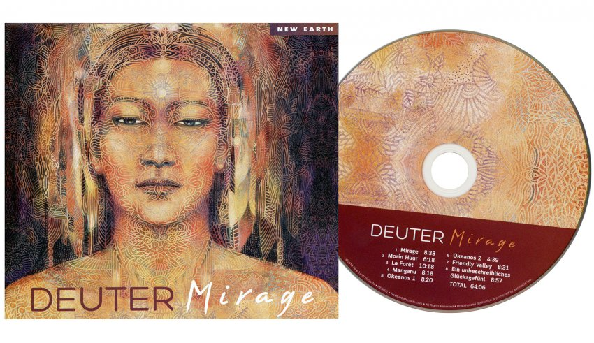 Mirage - CD - copertina e disco
