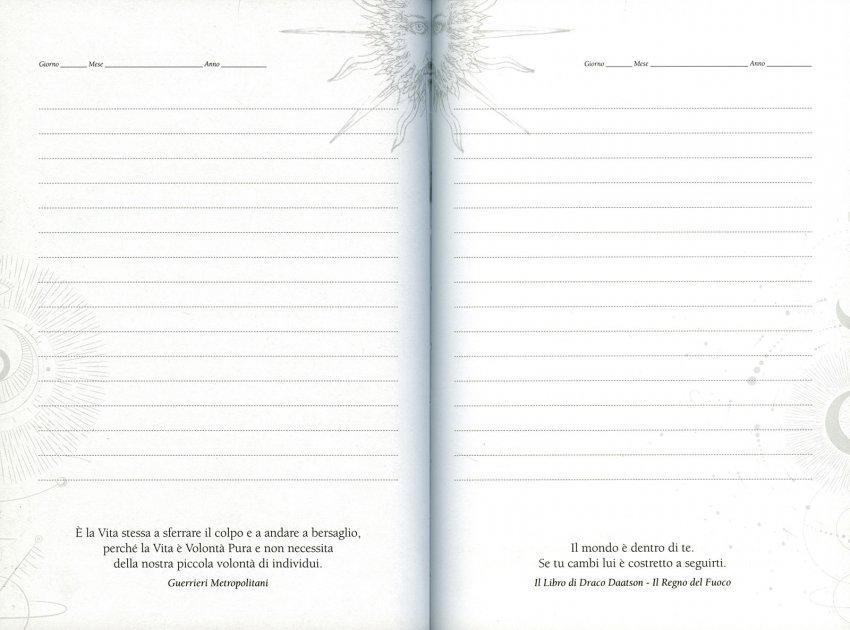 Diario dell'Alchimista - Pagine Interne