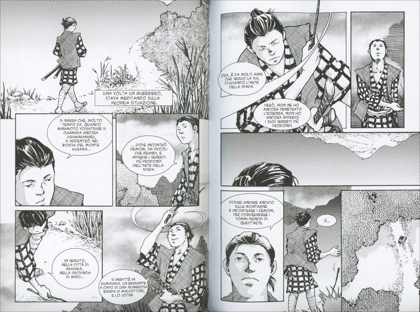 Il Discorso del Demone sulle Arti Marziali - Graphic Novel