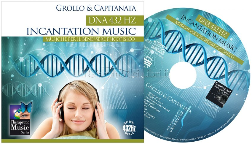 DNA 432 Hz Incantation Music - Label