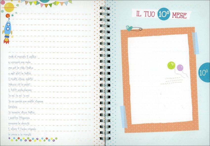 Eccomi Qui! - Quaderno di Appunti e Ricordi - immagine dell'interno