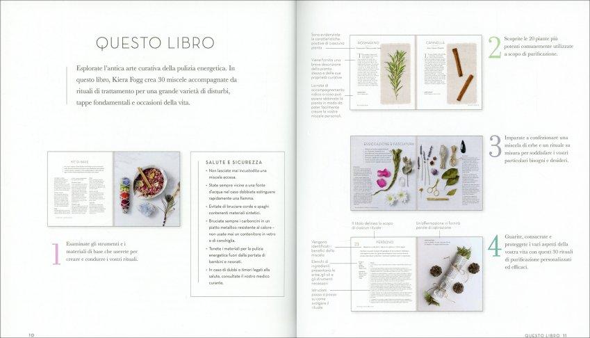 Erbe Sacre per la Pulizia Energetica - contenuti del libro