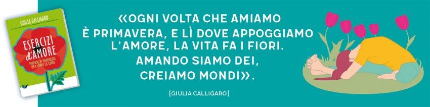 Esercizi d'Amore - citazione di Giulia Calligaro