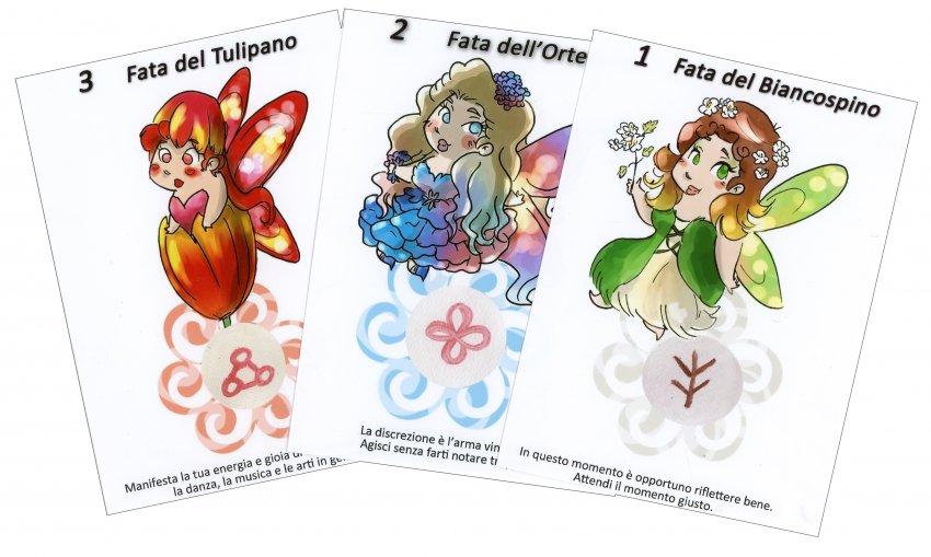Il Sussurro delle Fate - carte fate fiori