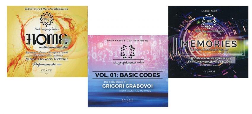 Endrik Favero - Cofanetto Trivium 3 CD
