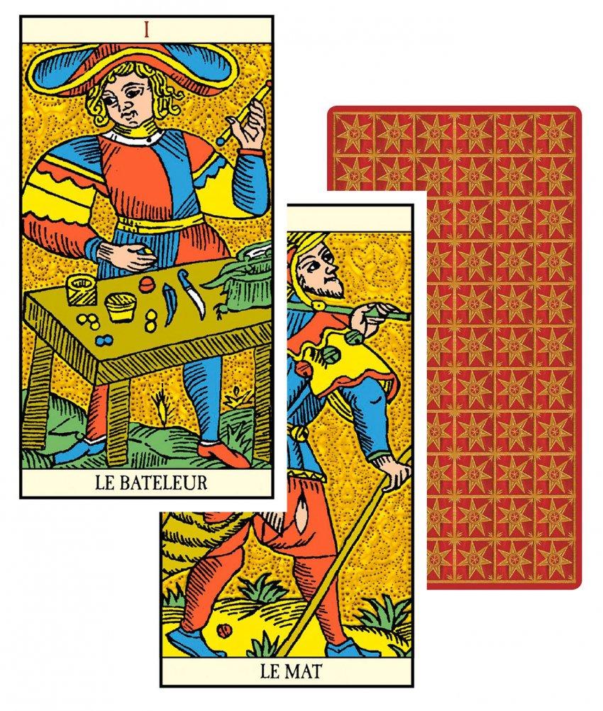 Golden Tarot of Marseille - Carte