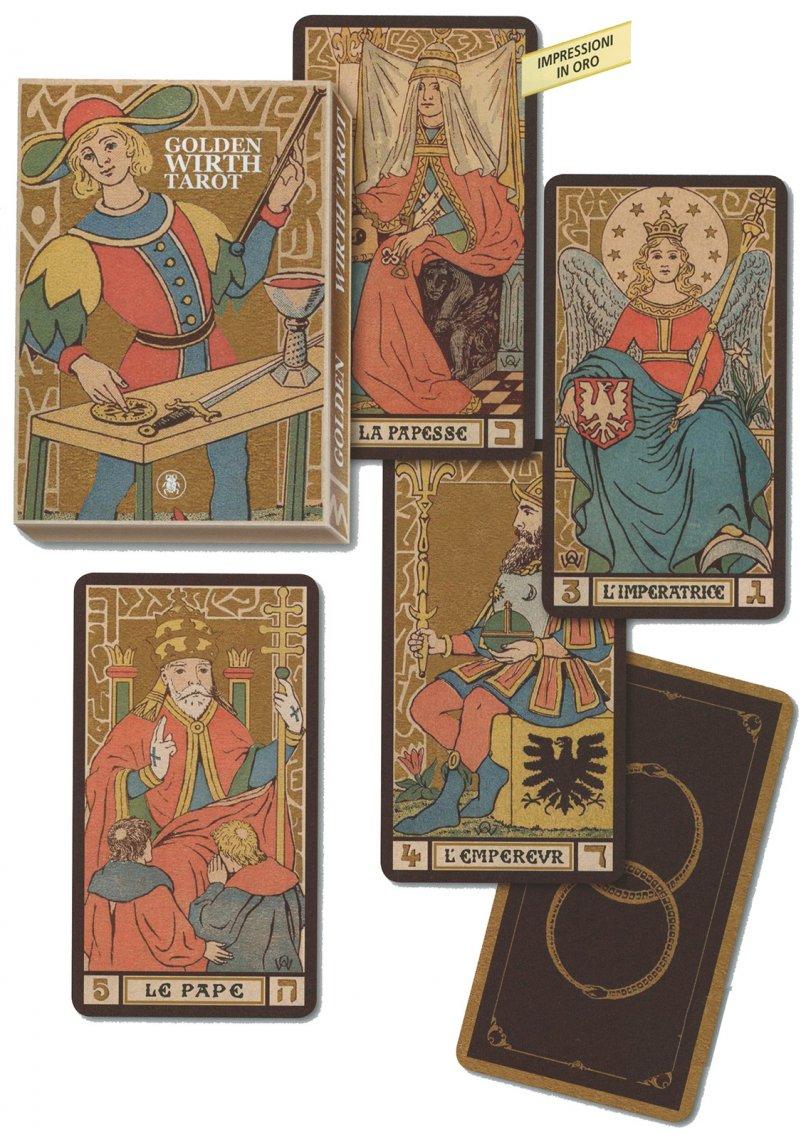 Golden Wirth Tarot - Carte