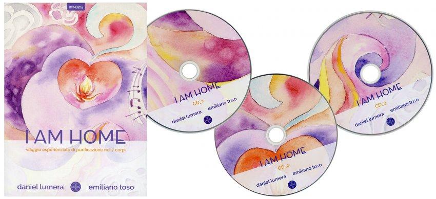 I am Home - 3 CD - contenuto del cofanetto