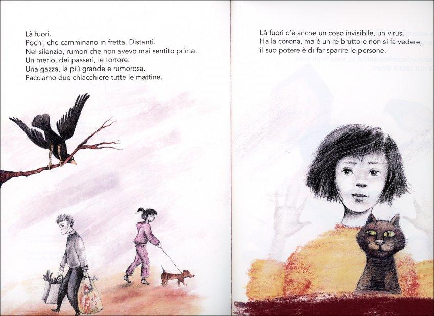 Là Fuori - illustrazioni del libricino