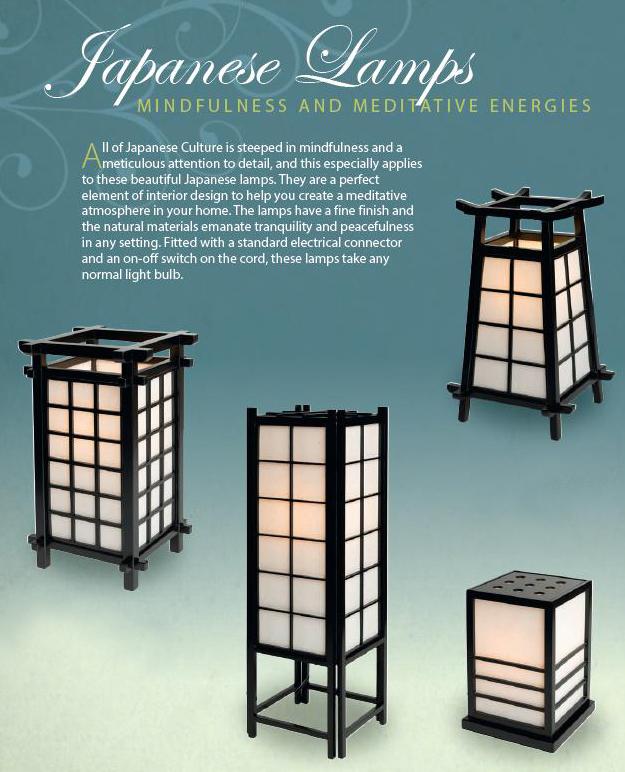 Lampada Giapponese - Nikko Nera