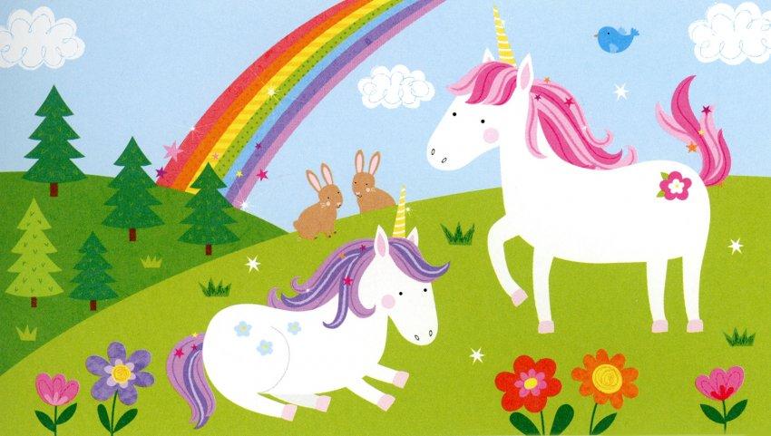 Blocco Scaccia-Noia Unicorni - Unicorni Magici