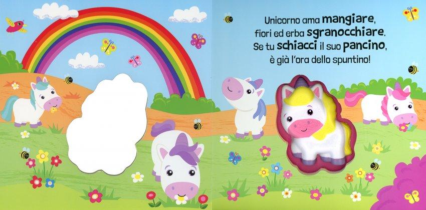 Unicorno Squishy Squashy - immagine interna