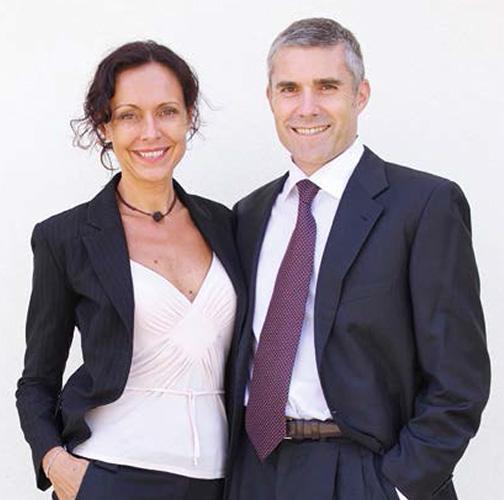 Lucia Giovannini e Nicola Riva