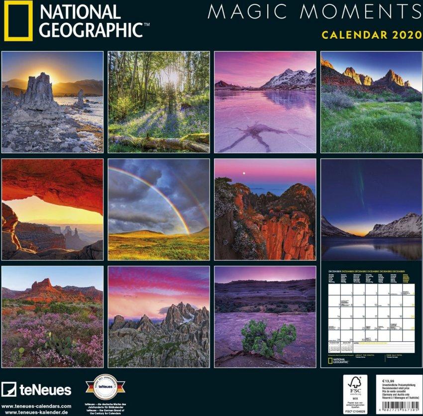 Calendario Magic Moments 2020 - Retro