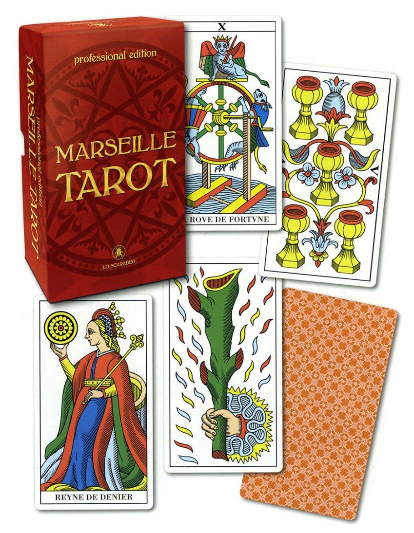 Marseille Tarot - Tarocchi di Marsiglia - Edizione Professionale