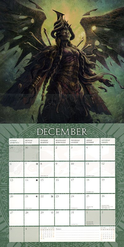 Mausolea - Calendario 2020 - Retro