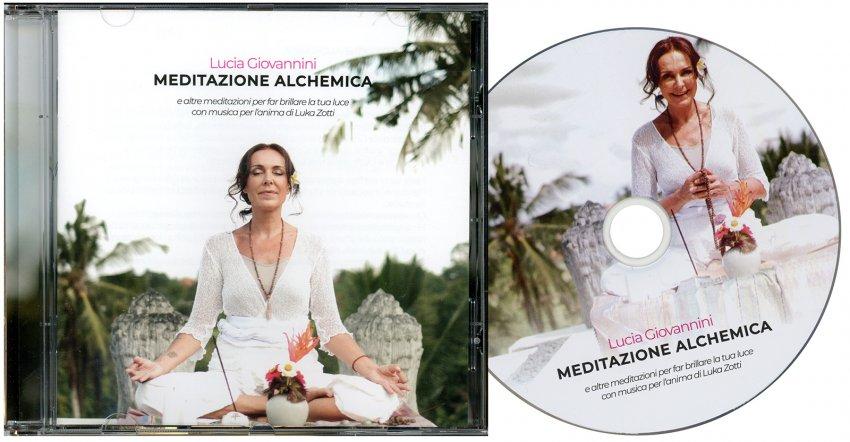 Meditazione Alchemica - CD Audio - immagine del CD