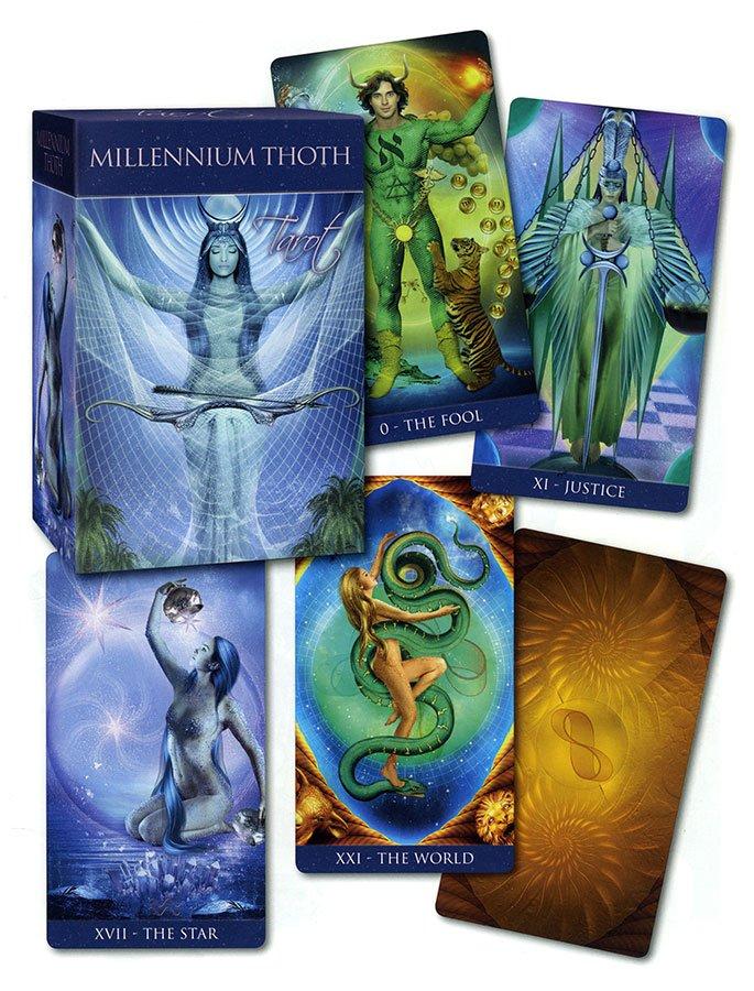 Thoth Tarot - Tarocchi del Millennio di Thoth