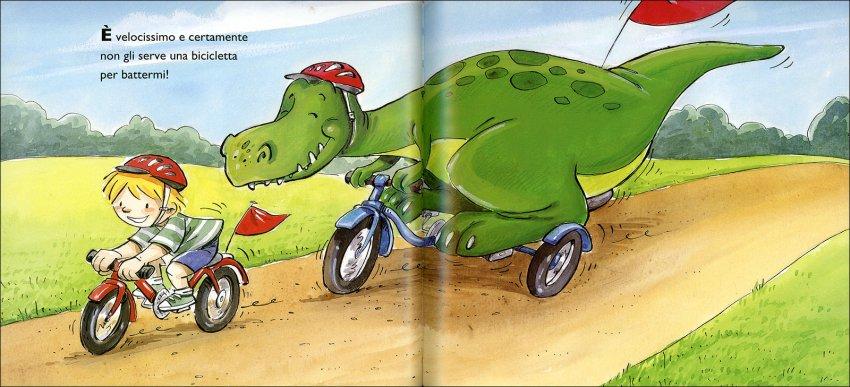Il mio Amico T-rex - immagine dentro al libro