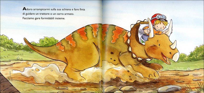 Il mio Amico Triceratopo - immagine dinosauro