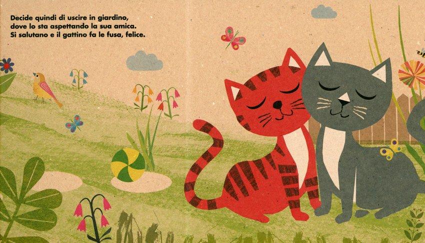 Il Mio Gattino - Illustrazione