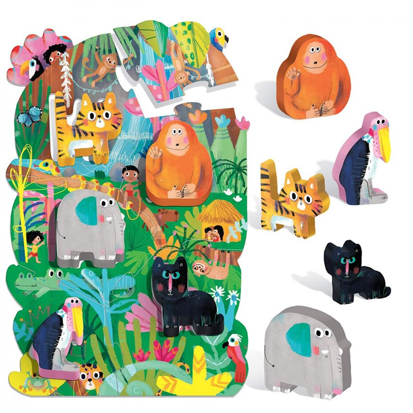Montessori My First Puzzle The Jungle - La Giungla
