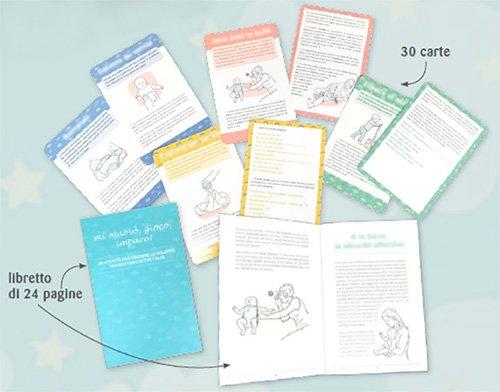 Mi Muovo, Gioco, Imparo! - Cofanetto con 30 carte illustrate e libro