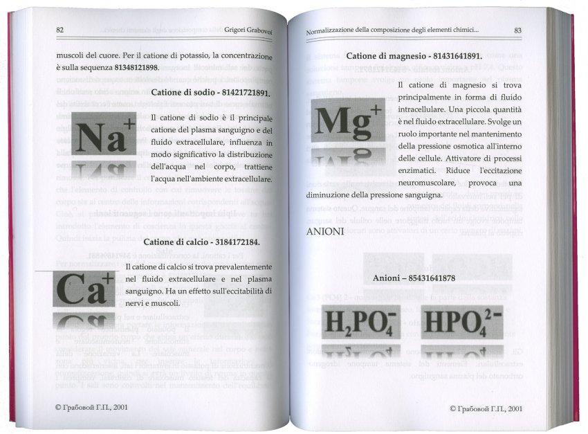 Normalizzazione della Composizione degli Elementi Chimici Tramite la Concentrazione sulle Sequenze Numeriche per la Vita Eterna - Pagina Interna