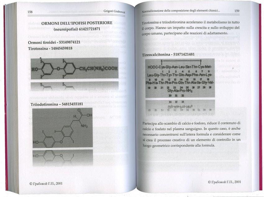 Normalizzazione della Composizione degli Elementi Chimici Tramite la Concentrazione sulle Sequenze Numeriche per la Vita Eterna - Pagine Interne
