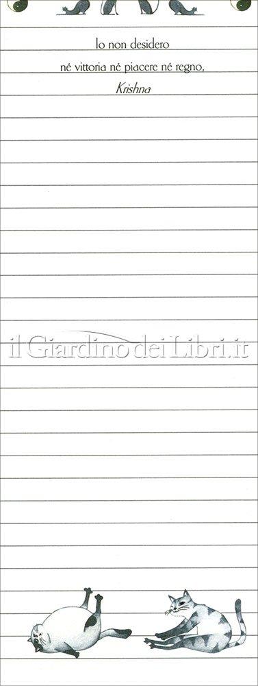 Notes - Yoga per Gatti Piccolo Formato 7x19
