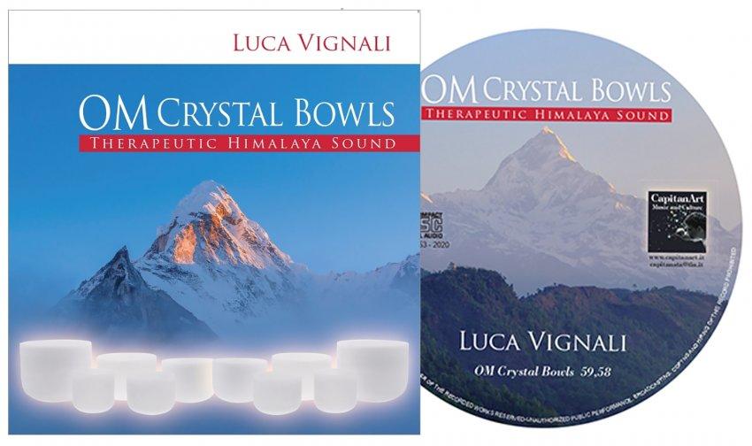 Om Crystal Bowls - Therapeutic Himalaya Sound - interno CD