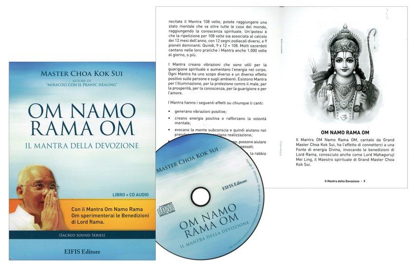 Om Namo Rama Om - CD e libretto