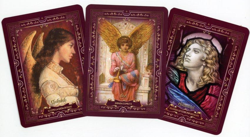 Oracolo delle Gerarchie Angeliche - carte