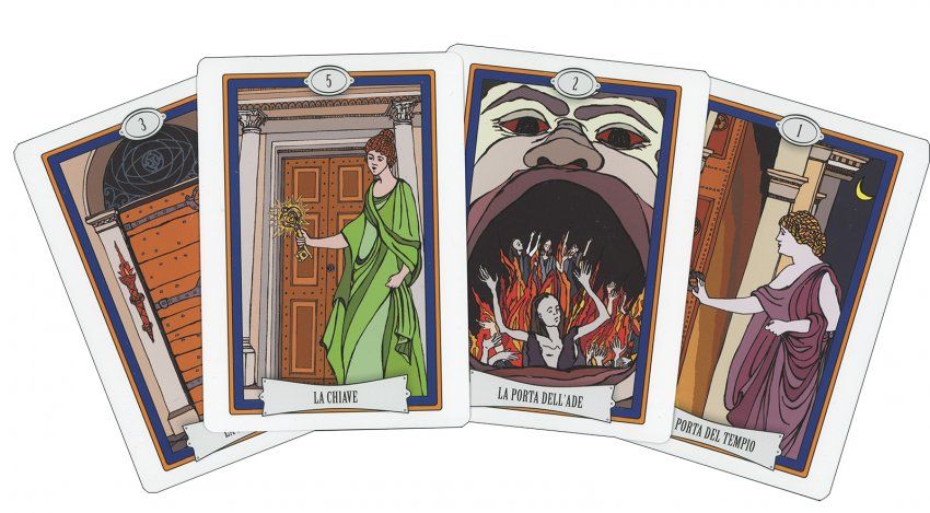 L'Oracolo delle Porte - carte