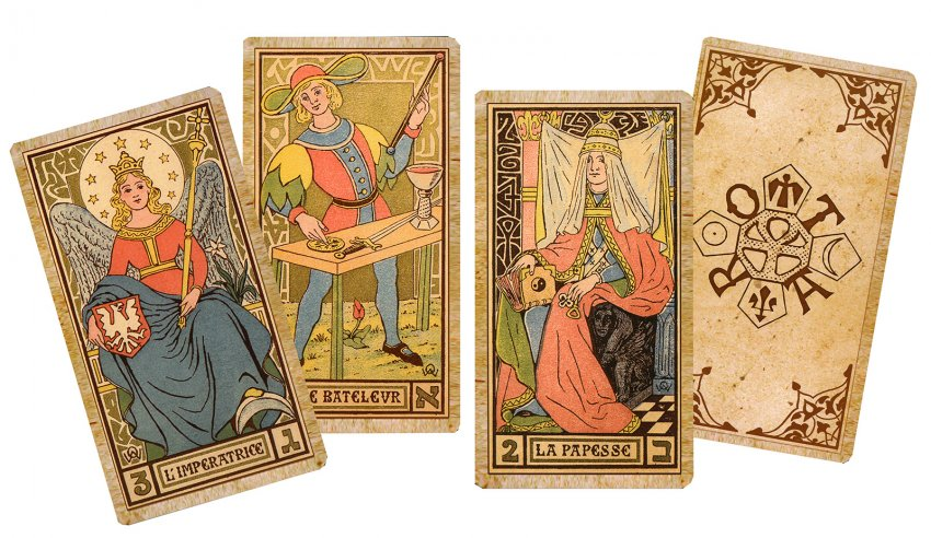 Oswald Wirth Tarot - Carte