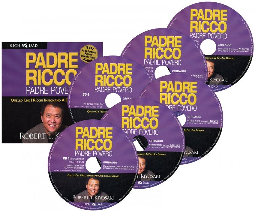 Padre Ricco Padre Povero - Audiolibro 6 CD Audio